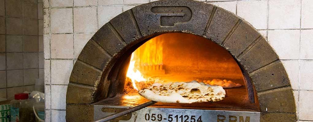 Wood oven pizzeria