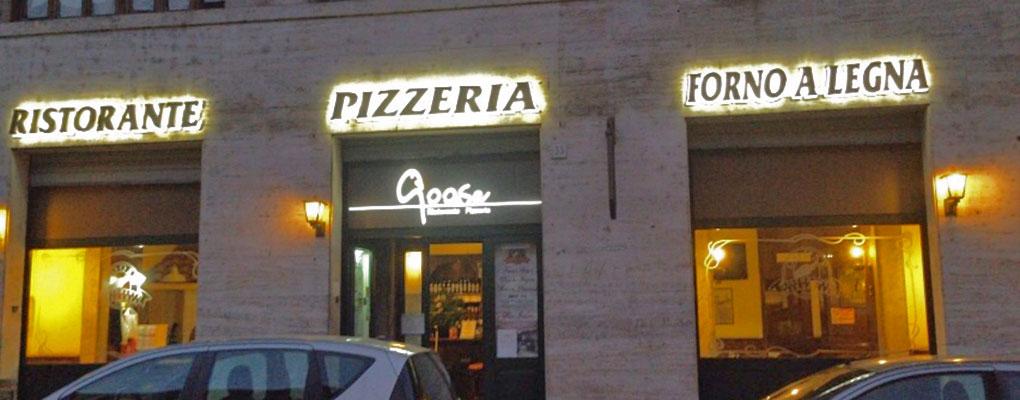 Goose Pizzeria Restaurant St. Peter – Rome